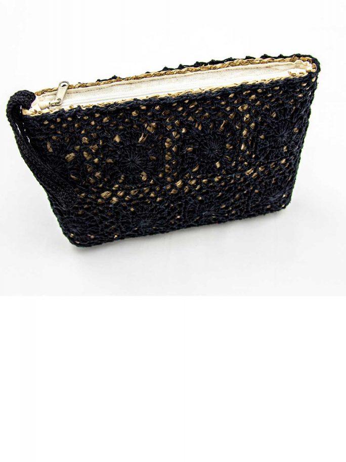 Pouch Crochet-Black